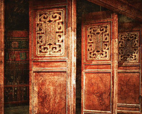 Wall Art - Photograph - Temple Door by Skip Nall
