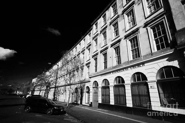tenement block on minerva street finnieston Glasgow Scotland UK Art Print by Joe Fox