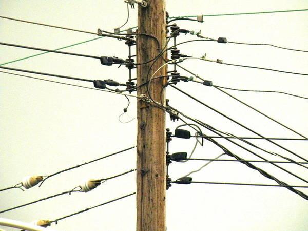 Wire Wrap Photograph - Tension by Joe Pratt