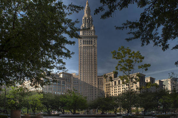 Photograph - Terminal Tower by At Lands End Photography