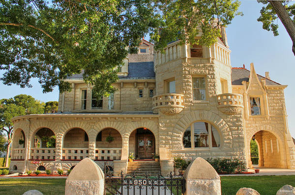 Photograph - Terrell Castle In San Antonio by Sarah Broadmeadow-Thomas