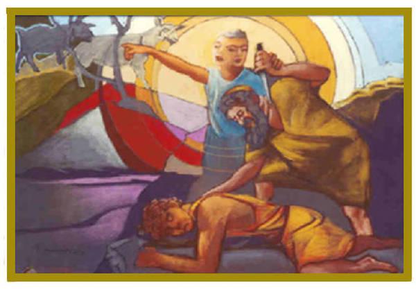 Test Of Abraham Art Print