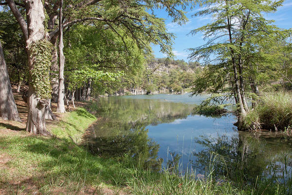 Photograph - Texas Hill Country River by James Woody