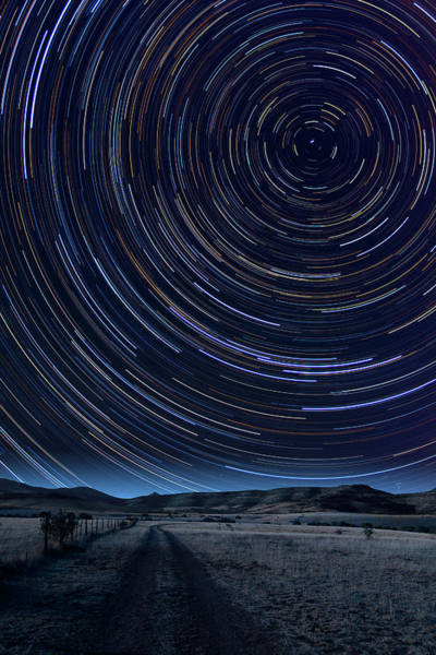 Photograph - Texas Star Trails by Larry Landolfi
