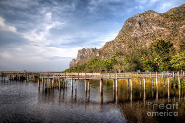 Wall Art - Photograph - Thai Park by Adrian Evans