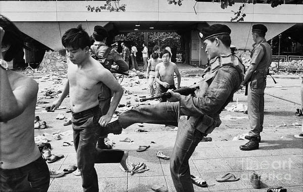 Photograph - Thailand: Student Protest by Granger