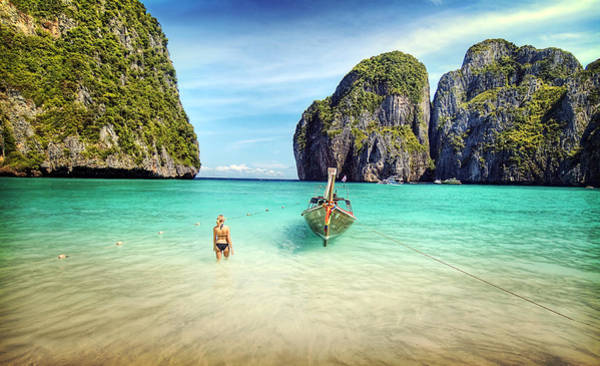 Phi Photograph - Thailand Vacation by Ron Schwager