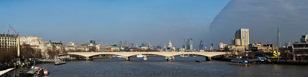 Photograph - Thames Panorama Weather Front Clearing by Gary Eason