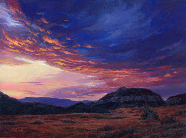 Grand Mesa Painting - That Moment Between by Shawn Shea