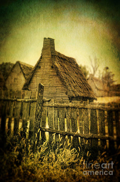 Rood Wall Art - Photograph - Thatched Cottages by Jill Battaglia