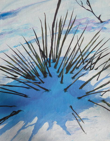 Buried Painting - Thaw by Sandy Tracey