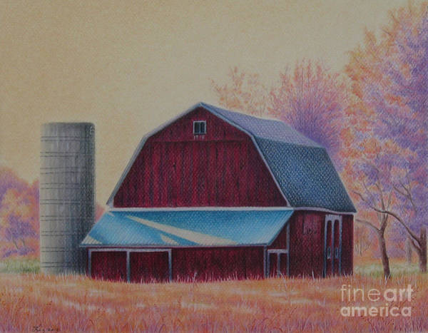 Painting - The 1918 Barn by Elizabeth Dobbs