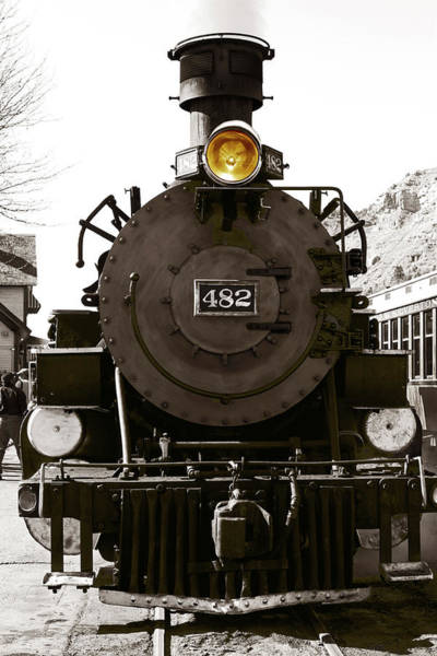 Photograph - The 482 Durango To Silverton by Lorraine Devon Wilke