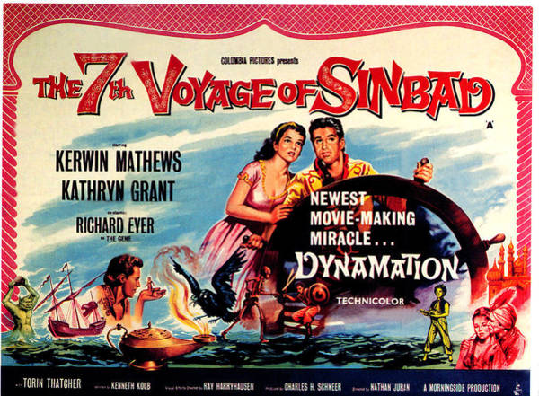 1958 Movies Photograph - The 7th Voyage Of Sinbad, Aka The by Everett