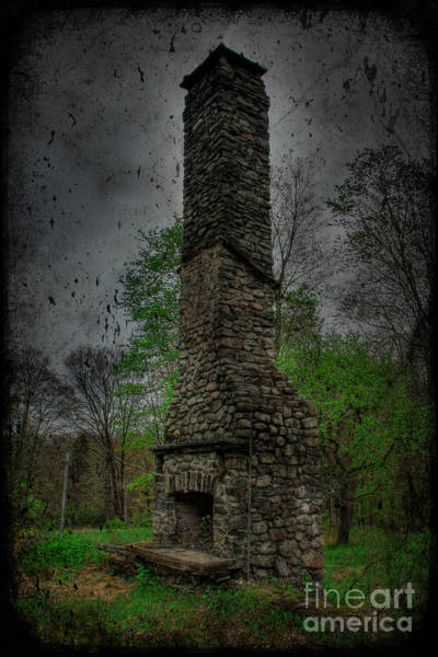 Wall Art - Photograph - The Abandoned Fireplace  by Lee Dos Santos