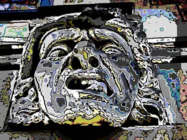 Gargoyle Digital Art - The Abscess by Tim Allen