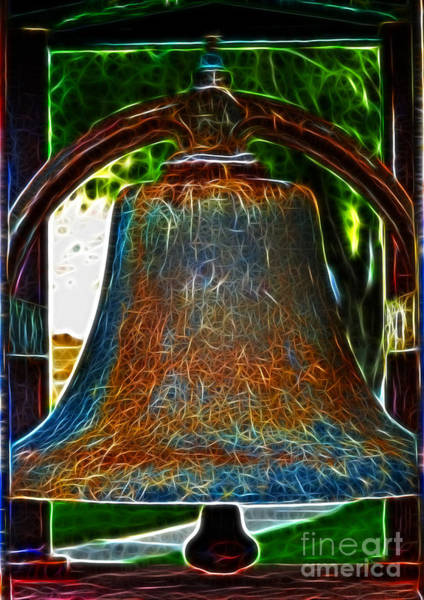 Photograph - The Academy Bell Fractal by Donna Greene