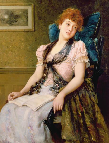 Seductive Painting - The Afternoon Rest by John Morgan