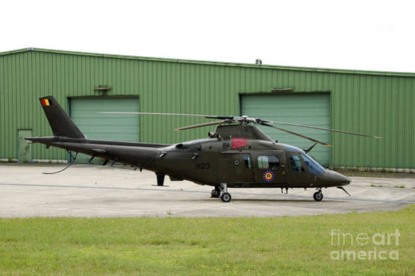 Utility Aircraft Photograph - The Agusta A-109 Helicopter by Luc De Jaeger