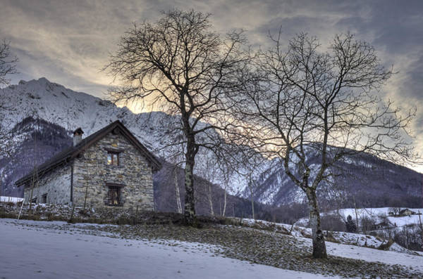 Ticino Photograph - The Alps In Winter by Joana Kruse