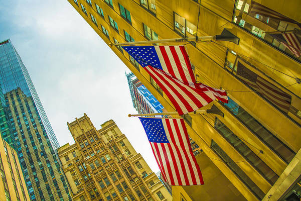 Photograph - The American Flag by Theodore Jones