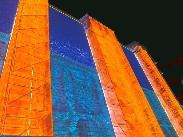 Vancouver Digital Art - The Art Of Scaffolding by Randall Weidner