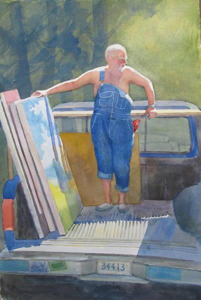 Painting - The Artist's Helper by Sharon Lehman
