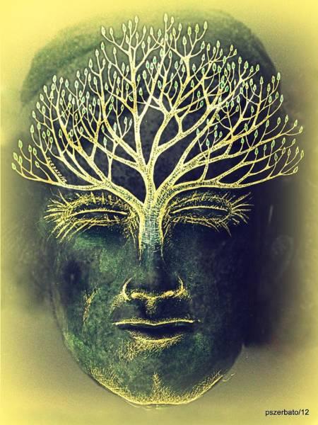 What Is Life Digital Art - The Awakening Of The Self-awareness Equinox by Paulo Zerbato