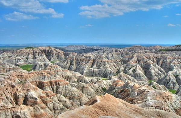 Photograph - The Badlands by Anthony Wilkening