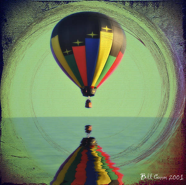 Photograph - The Balloon And The Sea by Bill Cannon