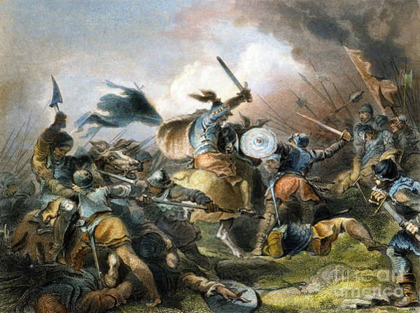 Photograph - The Battle Of Hastings by Granger