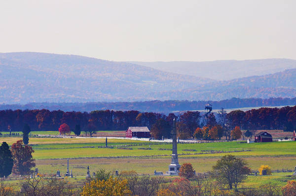 Photograph - The Battlefield At Gettysburg by Bill Cannon