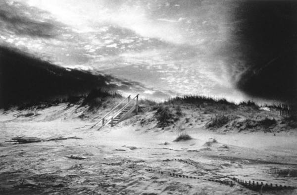 Dim Photograph - The Beach At Bridgehampton by Simon Marsden