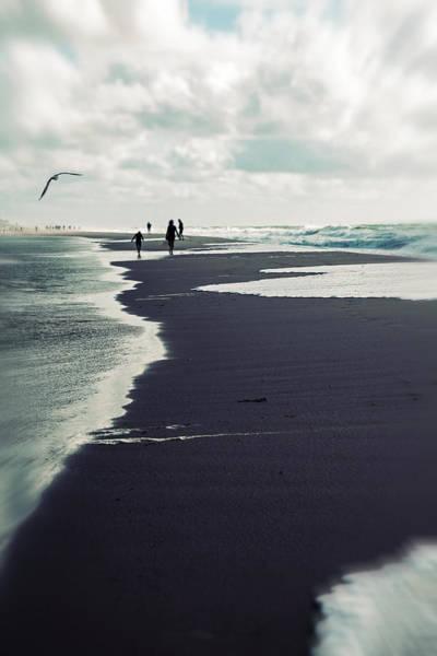 Silhoutte Photograph - The Beach by Joana Kruse