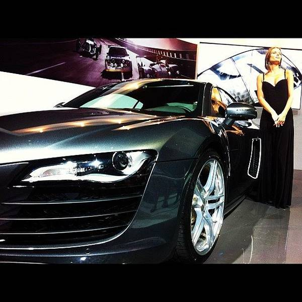 Audi Photograph - The Beauty And The Beast by Alon Ben Levy