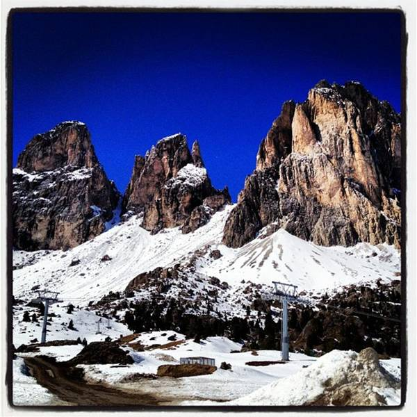 Spring Photograph - The Beauty Of The Dolomites by Luisa Azzolini