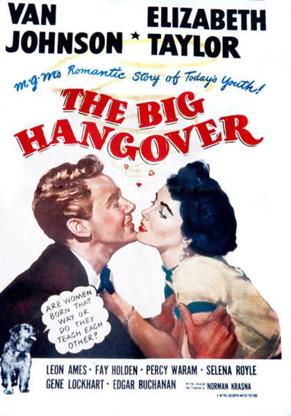 Van Johnson Photograph - The Big Hangover, Van Johnson by Everett