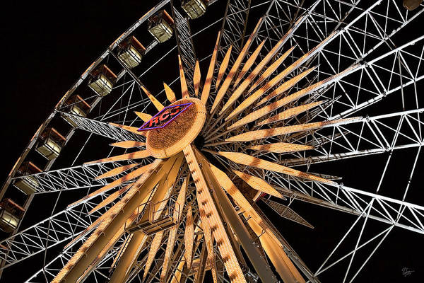 Photograph - The Big Wheel by Endre Balogh
