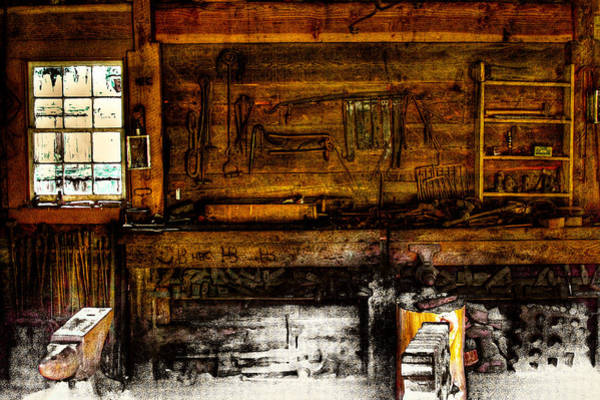 Photograph - The Blacksmith Shop by David Patterson