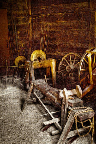 Photograph - The Blacksmith Shop II by David Patterson