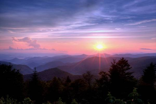 Photograph - The Blue Ridge by Doug McPherson