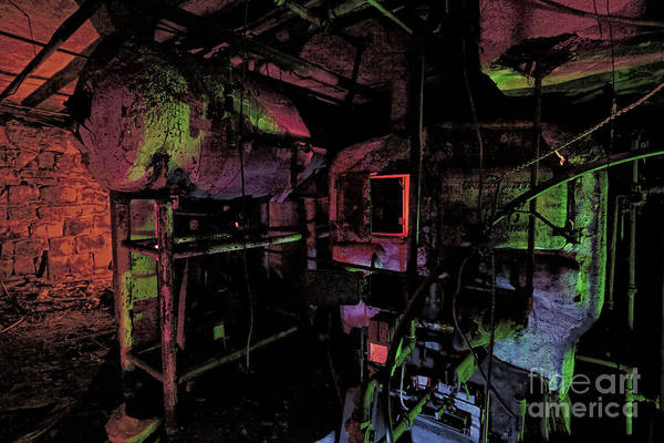 Stamford Photograph - The Boiler Room by Keith Kapple