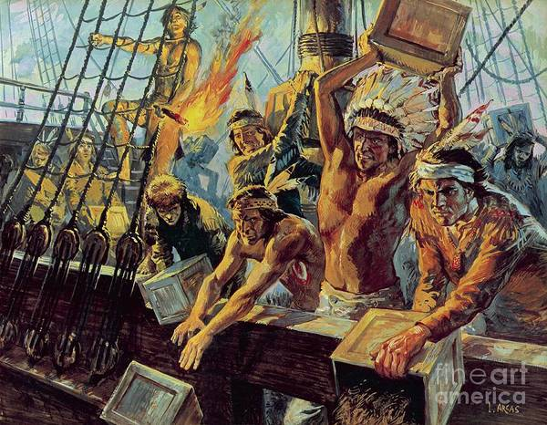The Boston Tea Party Art Print