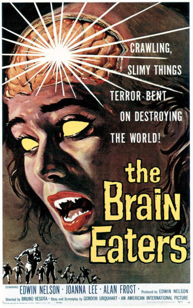 1958 Movies Photograph - The Brain Eaters, 1958 by Everett