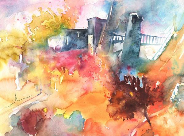 Painting - The Bridge On Planet Goodaboom by Miki De Goodaboom