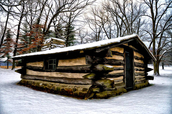 Cabin In The Woods Wall Art - Photograph - The Cabin In The Woods by Bill Cannon