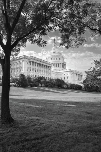 Photograph - The Capitol Building 1 by Frank Mari