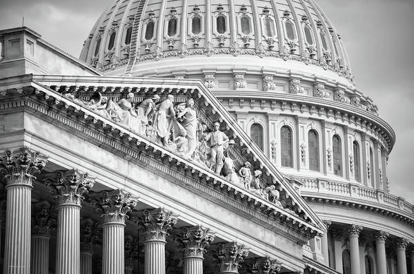 Photograph - The Capitol Building 4 by Frank Mari