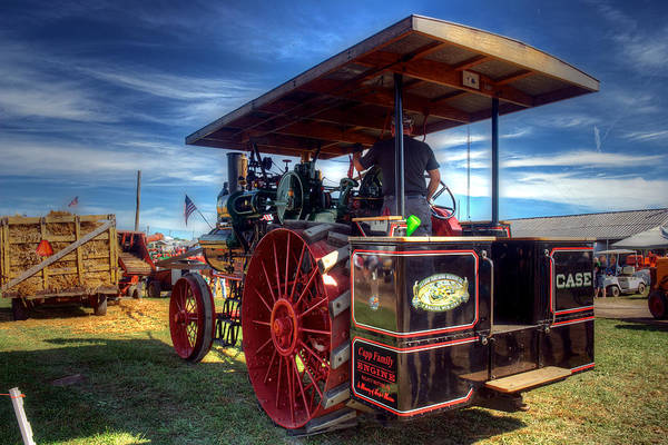 Photograph - The Capp Family Case Engine 2 by Mark Dodd