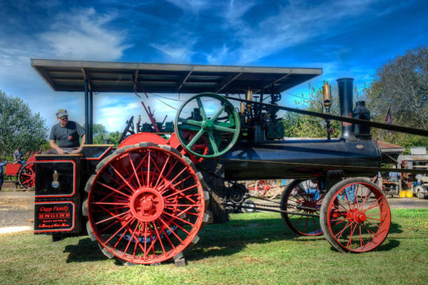 Photograph - The Capp Family Case Engine by Mark Dodd